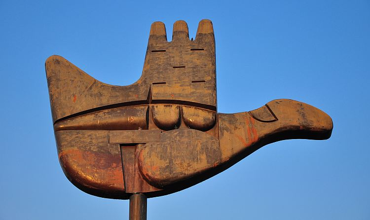 Open Hand Monument Chandigarh Guide
